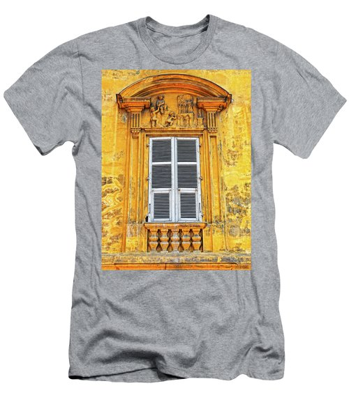 Yellow Window Nice France Men's T-Shirt (Athletic Fit)
