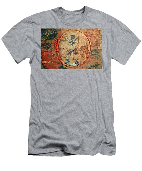Yin-yang Expressions Men's T-Shirt (Slim Fit) by Ed Hall