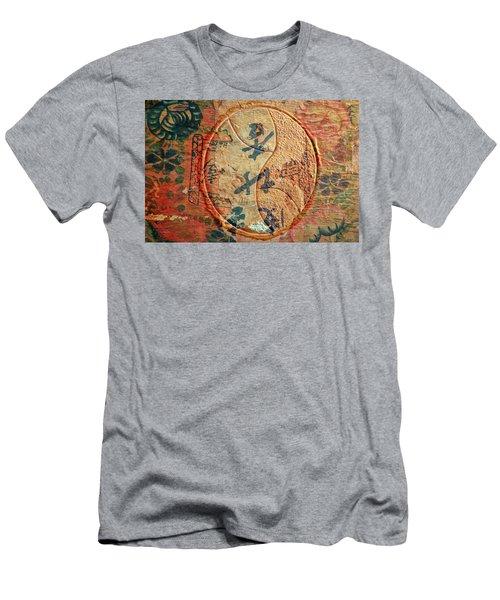 Yin-yang Expressions Men's T-Shirt (Athletic Fit)