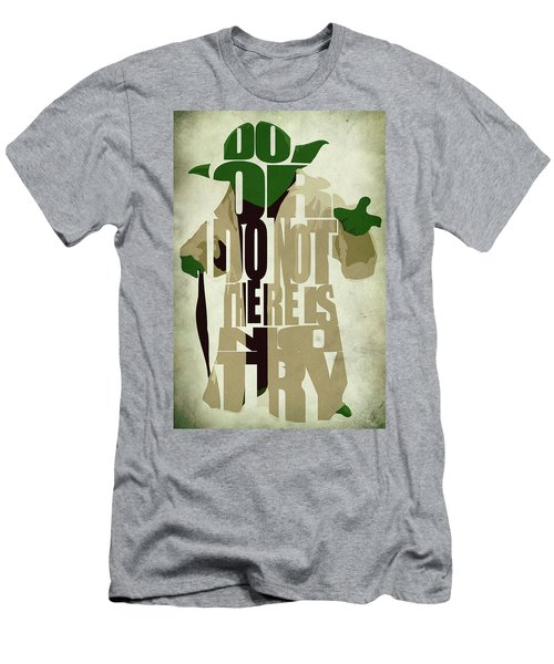 Yoda - Star Wars Men's T-Shirt (Athletic Fit)