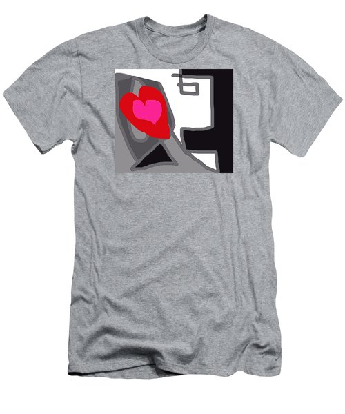 You Are My Forever Valentine Men's T-Shirt (Slim Fit) by RjFxx at beautifullart com