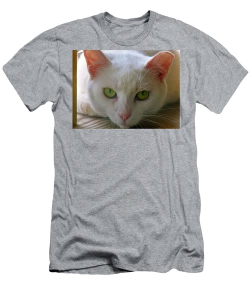 Men's T-Shirt (Slim Fit) featuring the photograph You Lookin At Me by Sherman Perry