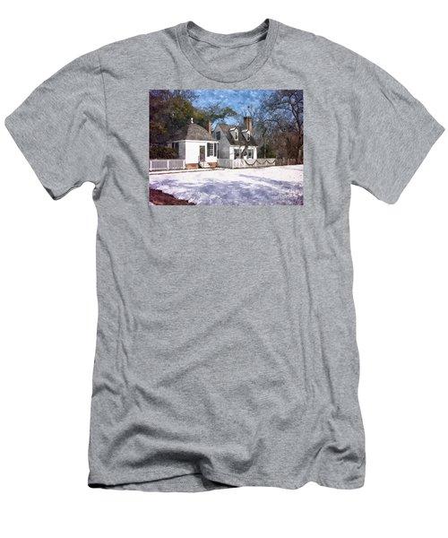 Yule Cottage Men's T-Shirt (Slim Fit) by Shari Nees