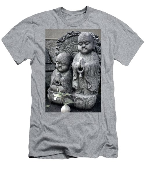 Zen Buddhas - Kyoto Men's T-Shirt (Athletic Fit)
