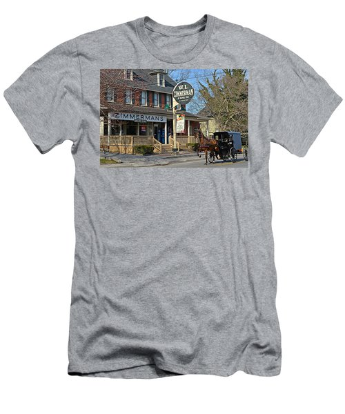 Zimmerman's Store Intercourse Pennsylvania Men's T-Shirt (Athletic Fit)