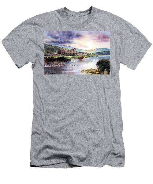 Late Evening At Tintern Abbey Men's T-Shirt (Athletic Fit)