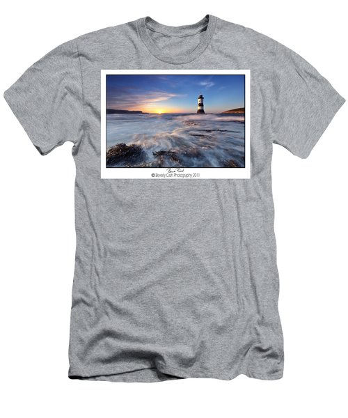 Penmon Point Lighthouse Men's T-Shirt (Athletic Fit)