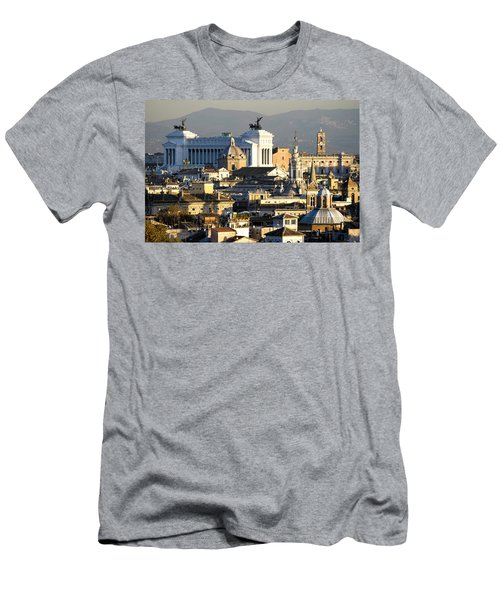 Rome's Rooftops Men's T-Shirt (Athletic Fit)