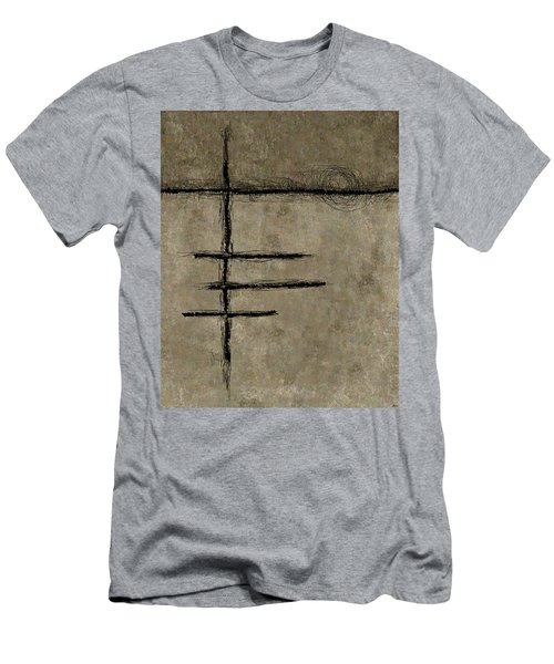 0292 Abstract Thought Men's T-Shirt (Athletic Fit)