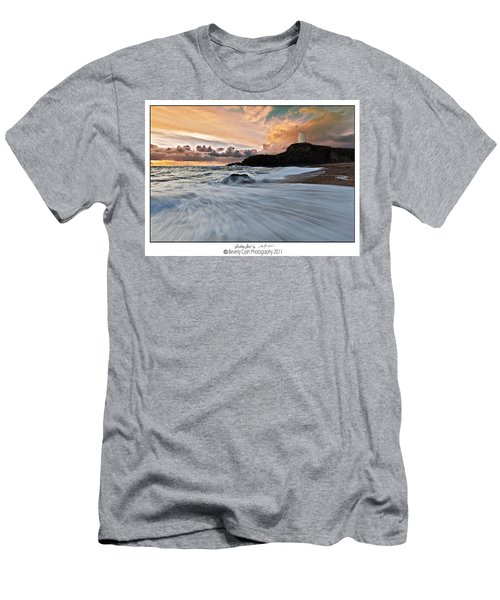 Llanddwyn Island Lighthouse Men's T-Shirt (Athletic Fit)