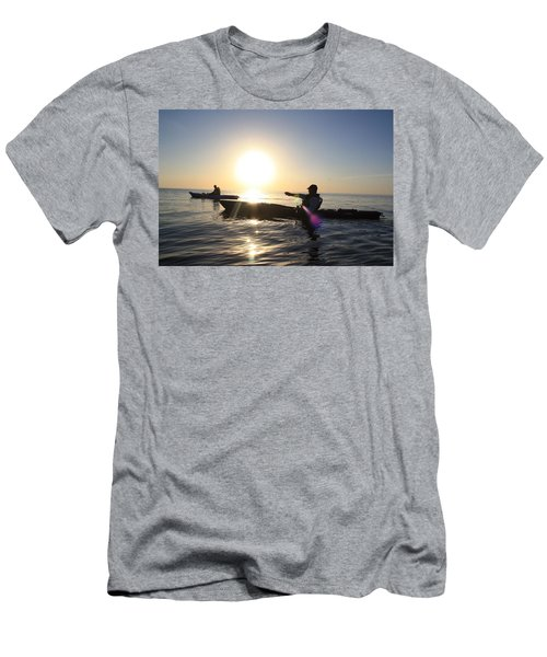 Coasting On Waters Light Men's T-Shirt (Athletic Fit)