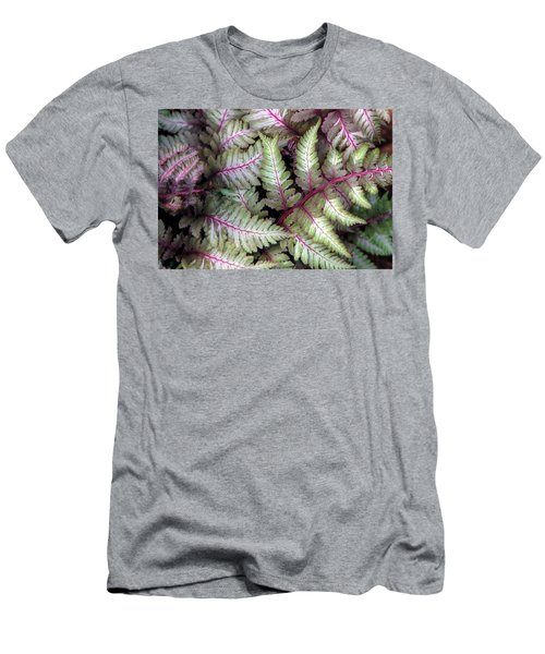 Men's T-Shirt (Slim Fit) featuring the photograph Japanese Painted Fern by Chris Anderson