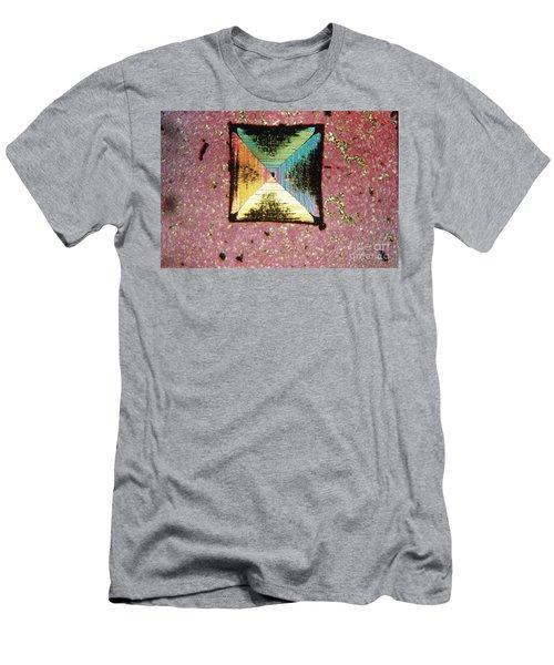 Salt Crystal Men's T-Shirt (Athletic Fit)