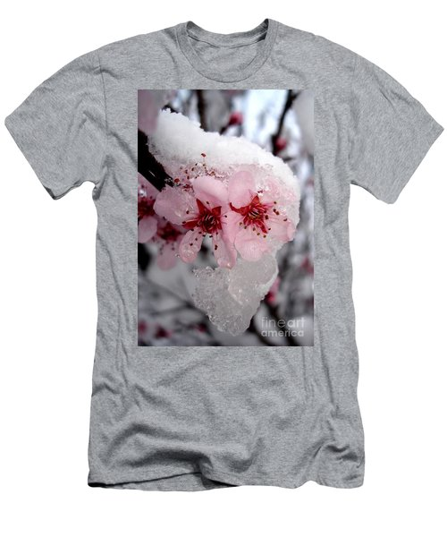 Spring Blossom Icicle Men's T-Shirt (Athletic Fit)