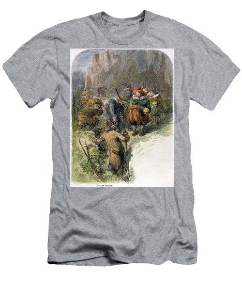 Irving: Rip Van Winkle Men's T-Shirt (Athletic Fit)