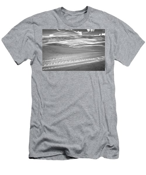 Land Meets Sky Men's T-Shirt (Slim Fit) by Colleen Coccia