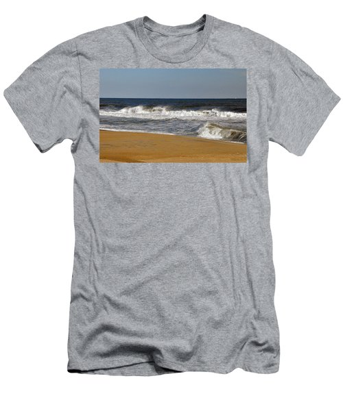 A Brisk Day Men's T-Shirt (Slim Fit) by Sarah McKoy