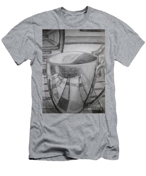 A Cup Of Reflections Men's T-Shirt (Athletic Fit)