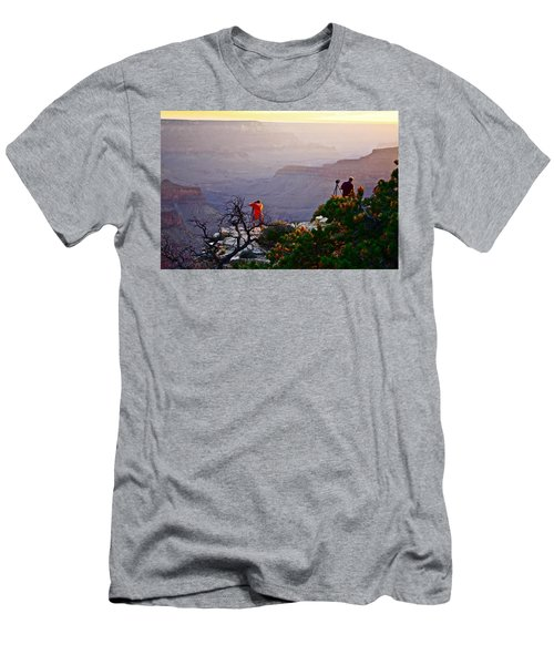 A Grand Meeting Place Men's T-Shirt (Athletic Fit)