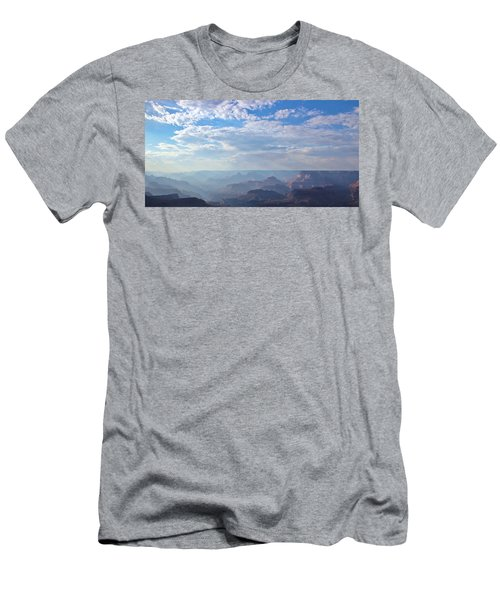A Grand View Men's T-Shirt (Slim Fit) by Heidi Smith