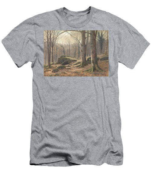 A Winter Morning Men's T-Shirt (Athletic Fit)