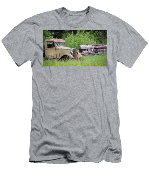 Men's T-Shirt (Slim Fit) featuring the photograph Abandoned by Steve McKinzie