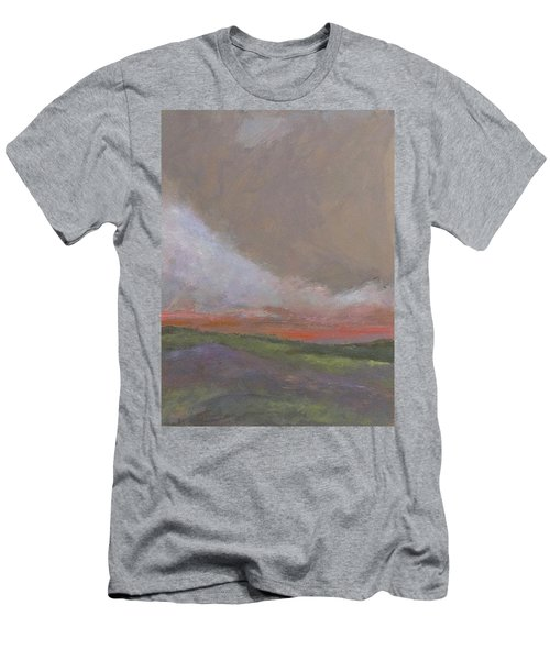Abstract Landscape - Scarlet Light Men's T-Shirt (Athletic Fit)