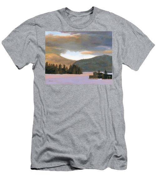 Adirondack Morning Men's T-Shirt (Athletic Fit)