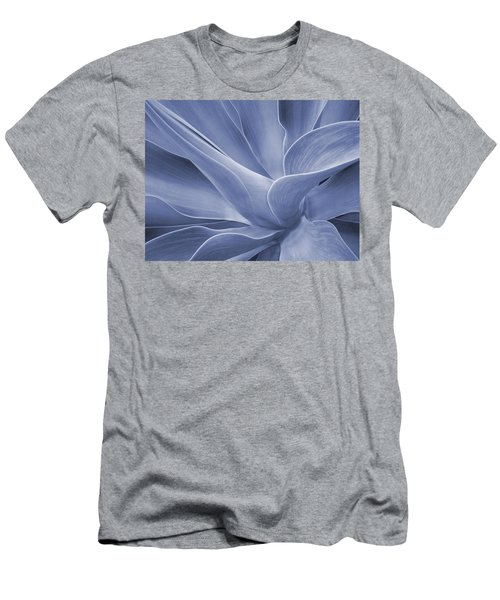 Agave In Blue Men's T-Shirt (Athletic Fit)