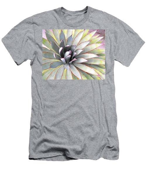 Aloe Men's T-Shirt (Slim Fit) by Rebecca Margraf