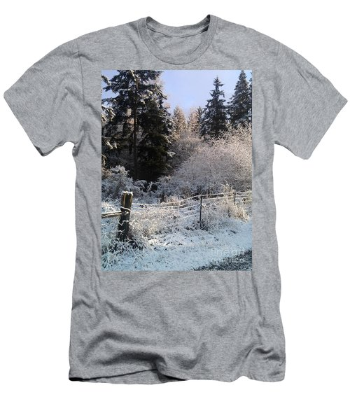 Along The Way Men's T-Shirt (Slim Fit) by Rory Sagner