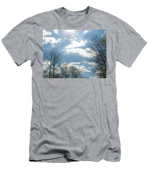 Men's T-Shirt (Slim Fit) featuring the photograph Angels On High by Pamela Hyde Wilson