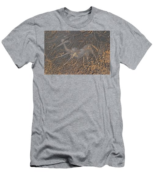 Antelope Petroglyph Namibia Men's T-Shirt (Athletic Fit)
