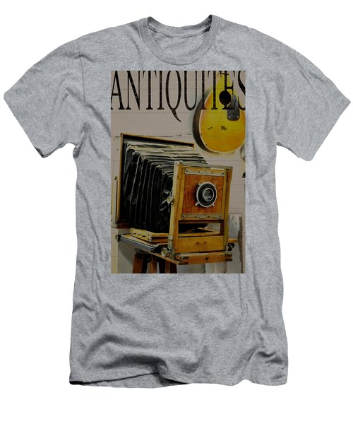 Antiquites Men's T-Shirt (Slim Fit) by Jan Amiss Photography