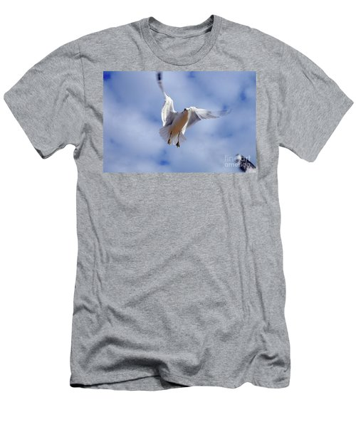 Applying Brakes In Flight Men's T-Shirt (Athletic Fit)