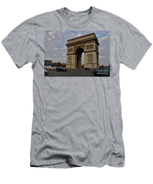 Men's T-Shirt (Slim Fit) featuring the photograph Arc De Triomphe by Eric Tressler