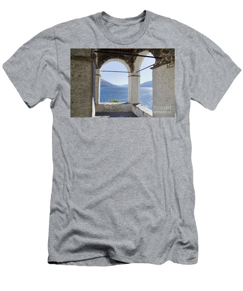 Arch And Lake Men's T-Shirt (Athletic Fit)