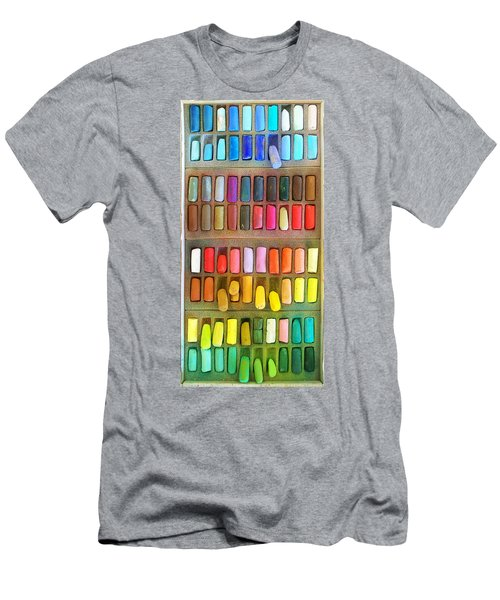 Artists Rainbow Men's T-Shirt (Athletic Fit)
