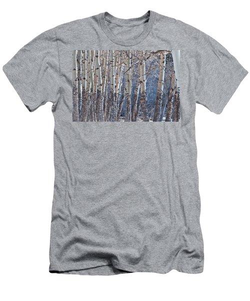Aspen Grove Men's T-Shirt (Slim Fit) by Colleen Coccia