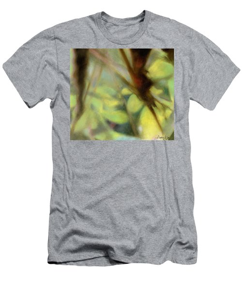 Men's T-Shirt (Athletic Fit) featuring the painting Autumn Dream by Andrew King