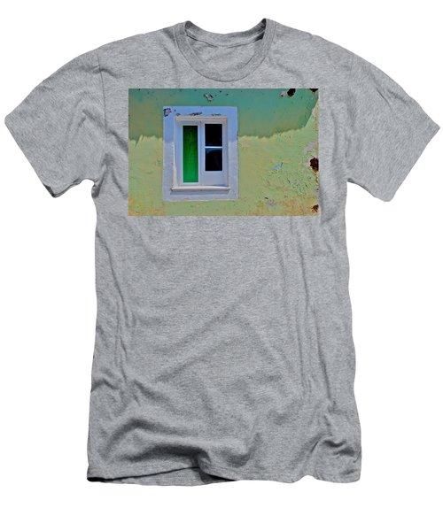 Azores Window Men's T-Shirt (Slim Fit) by Eric Tressler