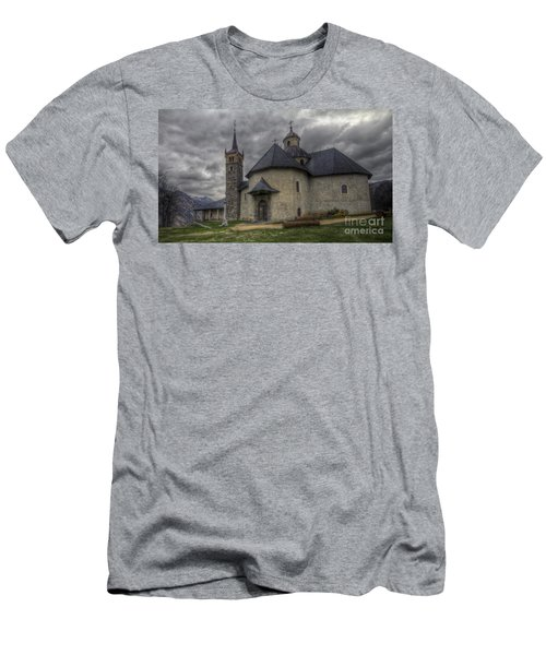 Baroque Church In Savoire France 6 Men's T-Shirt (Athletic Fit)