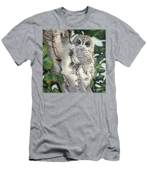 Barred Owl II Men's T-Shirt (Athletic Fit)