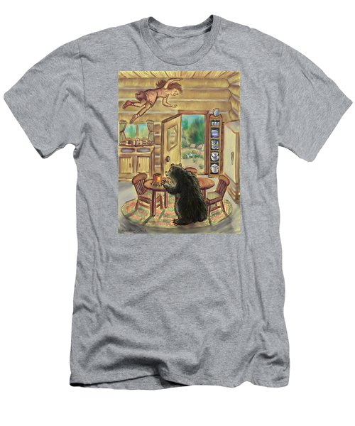 Bear In The Kitchen - Dream Series 7 Men's T-Shirt (Slim Fit) by Dawn Senior-Trask
