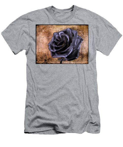 Black Rose Eternal   Men's T-Shirt (Athletic Fit)