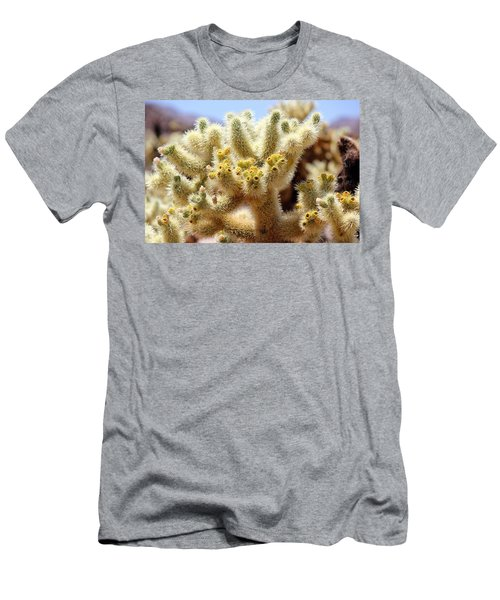 Blooming Cholla Men's T-Shirt (Athletic Fit)
