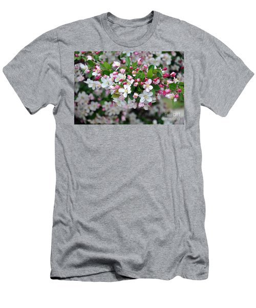Blossoms On Blossoms Men's T-Shirt (Athletic Fit)