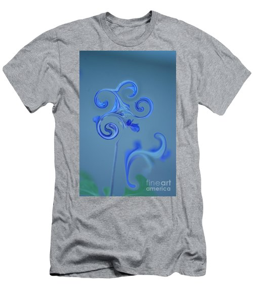 Men's T-Shirt (Athletic Fit) featuring the photograph Blue Heaven by Donna Bentley