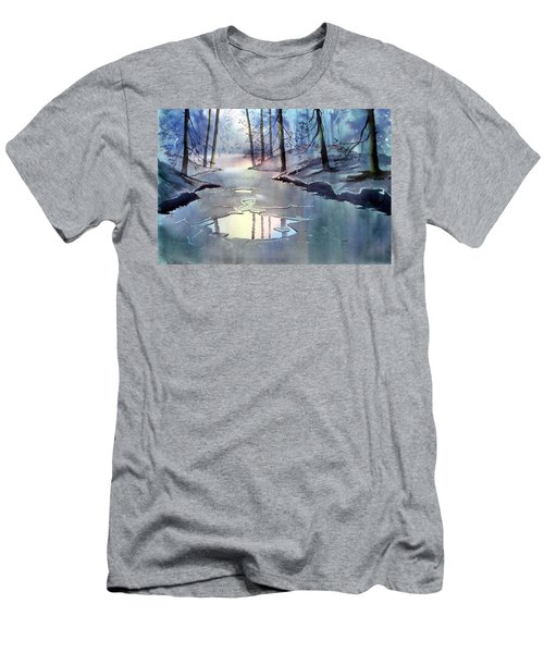 Breaking Ice Men's T-Shirt (Athletic Fit)