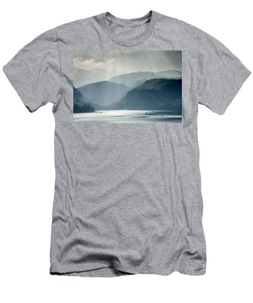 Breaking Through The Mist Men's T-Shirt (Athletic Fit)